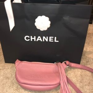 Lax tassel Chanel crossbody